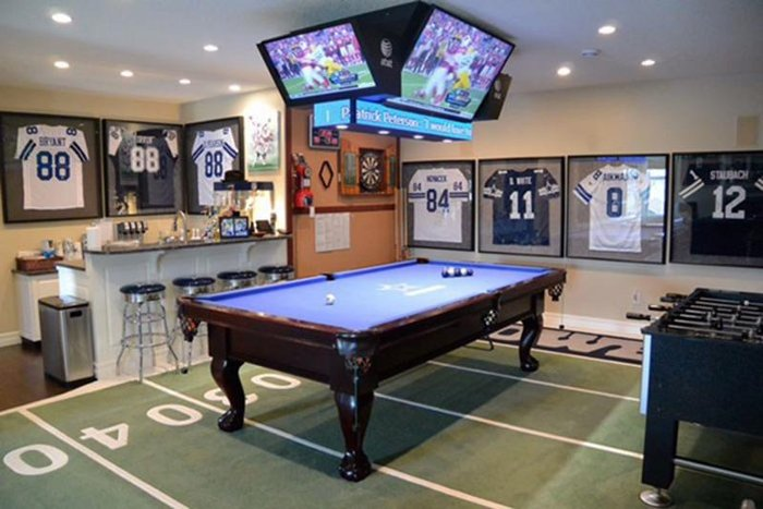Man Cave Ideas Music : Sports man cave ideas rc willey