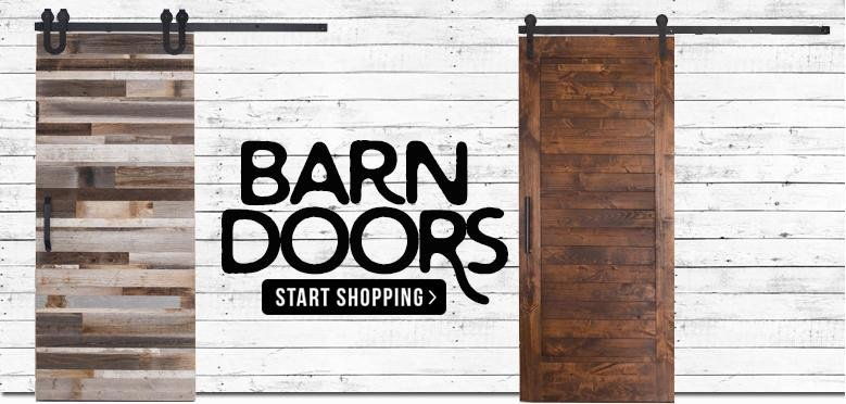 barn doors at rc willey