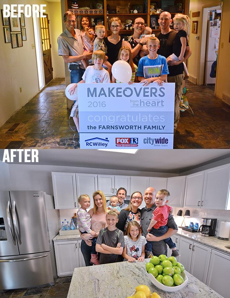 makeover from the heart