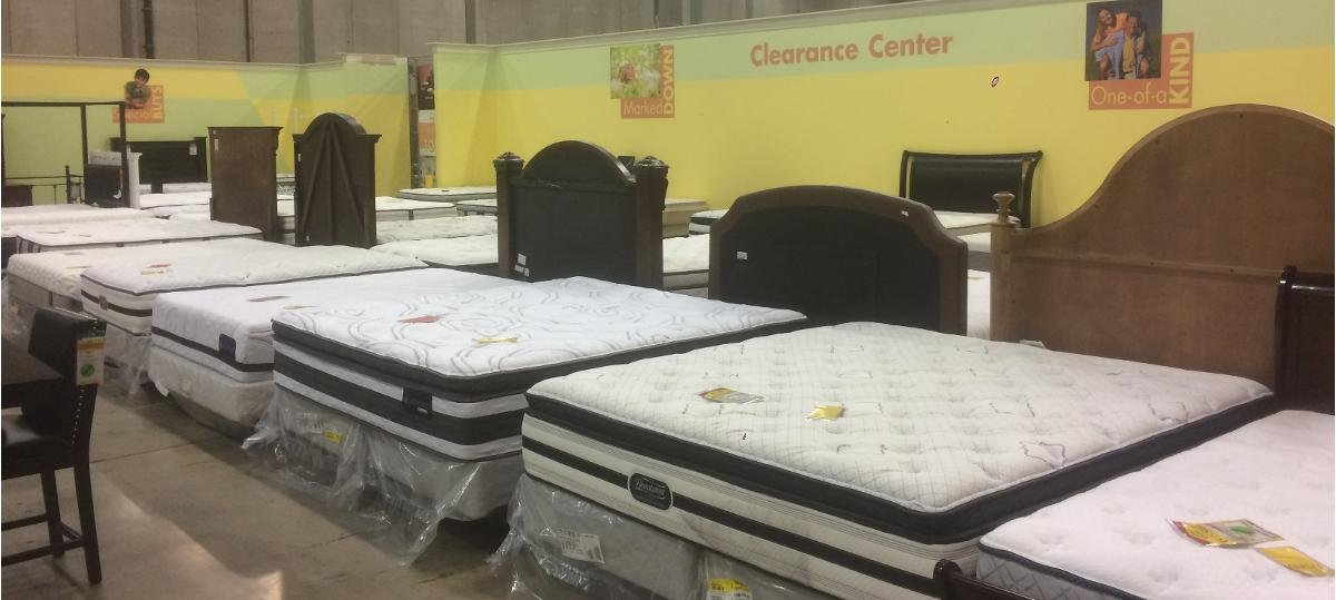 red tag clearance mattresses