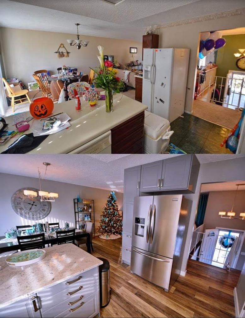 makeover kitchen