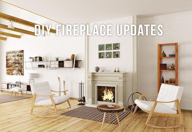 diy fireplace update