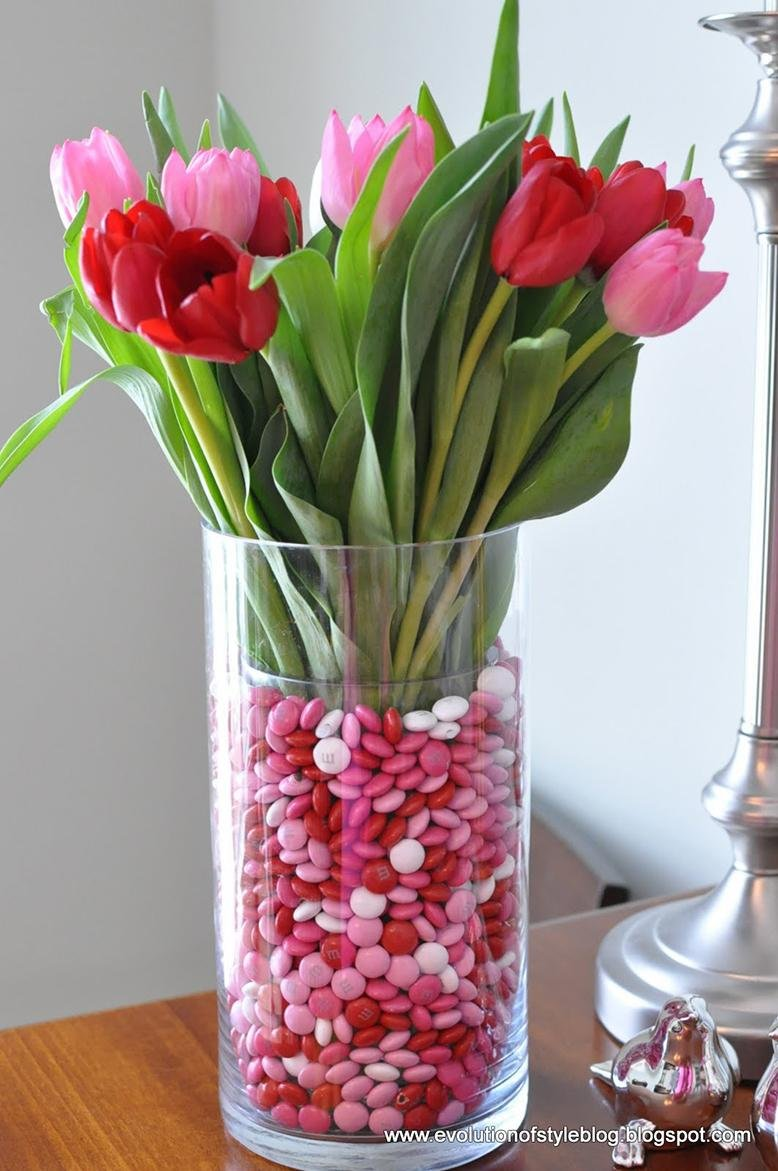 candy flower centerpiece