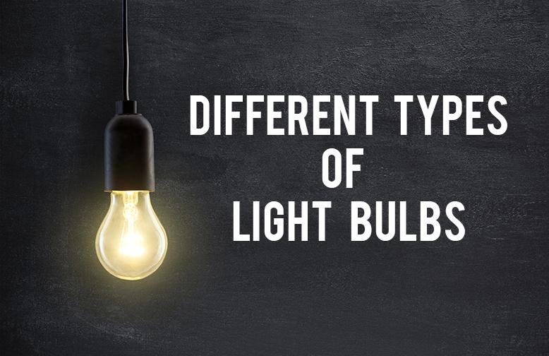 different types of lightbulbs