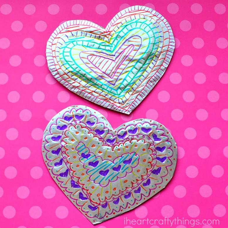 Superb Valentines Day Crafts 2 Part - 13: From I Heart Crafty Things - Instructions HERE. Valentineu0027s Day Arrows