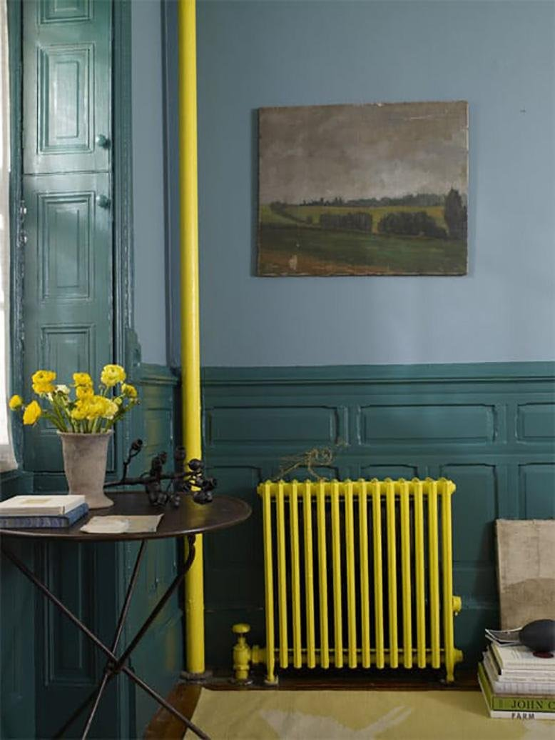 painted radiator