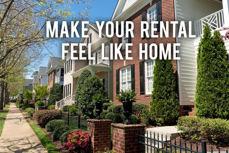 rental feel like home