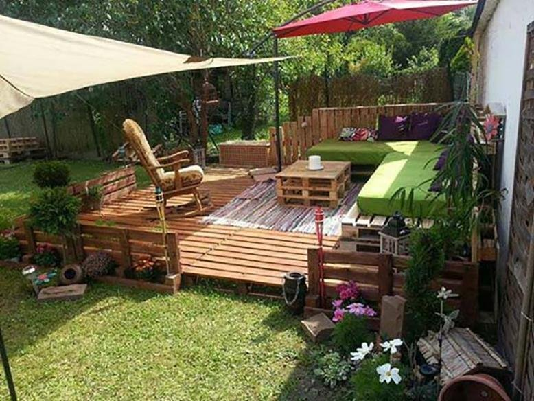 small backyard via architecture and design - Small Backyard Landscaping Ideas