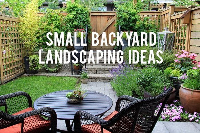 Ideas For Small Backyards Interesting Best Ideas About