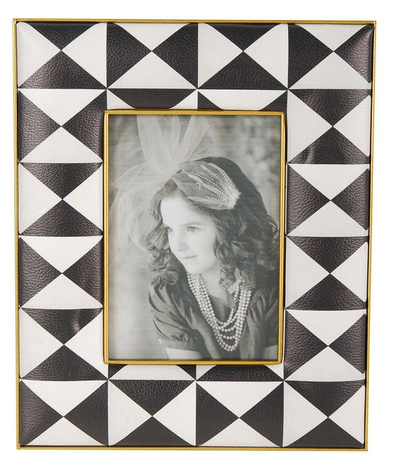 black and white picture frame