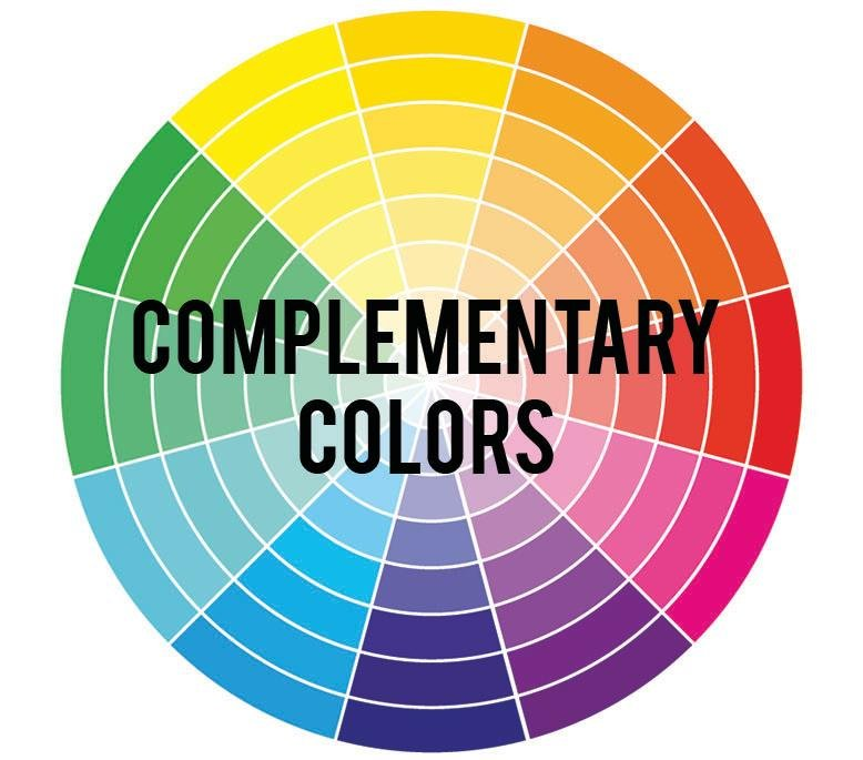 Picking A Color Palette For Your Home Using Complementary Colors Is Simple Way To Make Big Impact Are Hues That Opposite