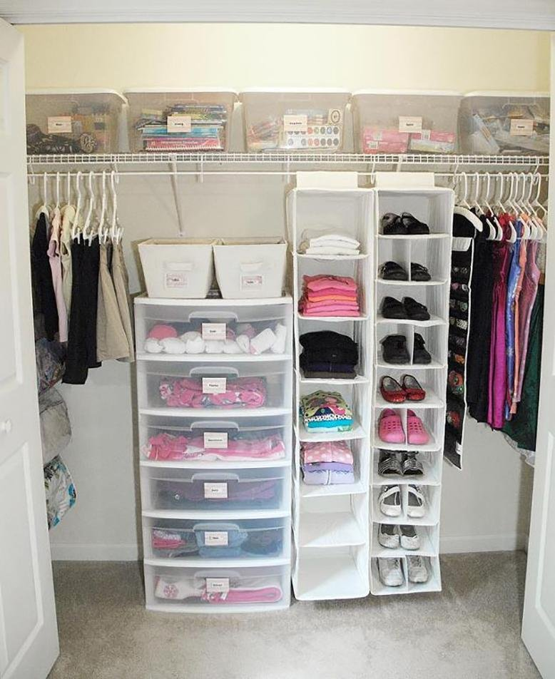 How To Organize Your Closet Rc Willey Blog