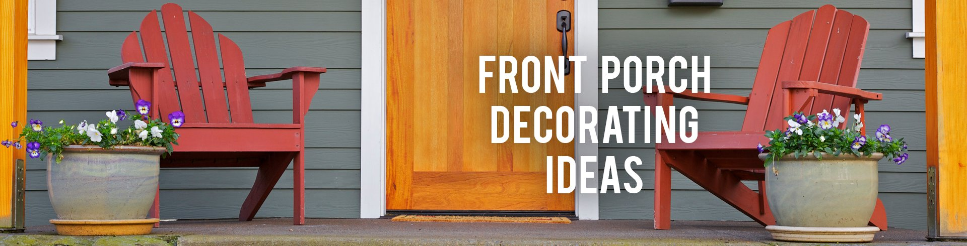 Front Porch Decorating Ideas. RC Willey   Design Consultation