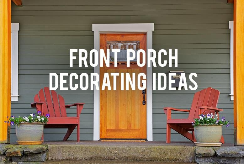 Do You Have A Boring Front Porch You Want To Decorate? At My House, Weu0027ve  Decided To Ditch The Flower Bed In The Front Of The House And Make It Into  A ...