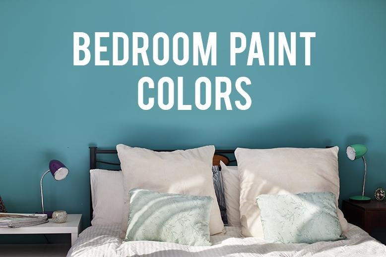 The color you paint your bedroom makes a huge difference in the mood of  your room