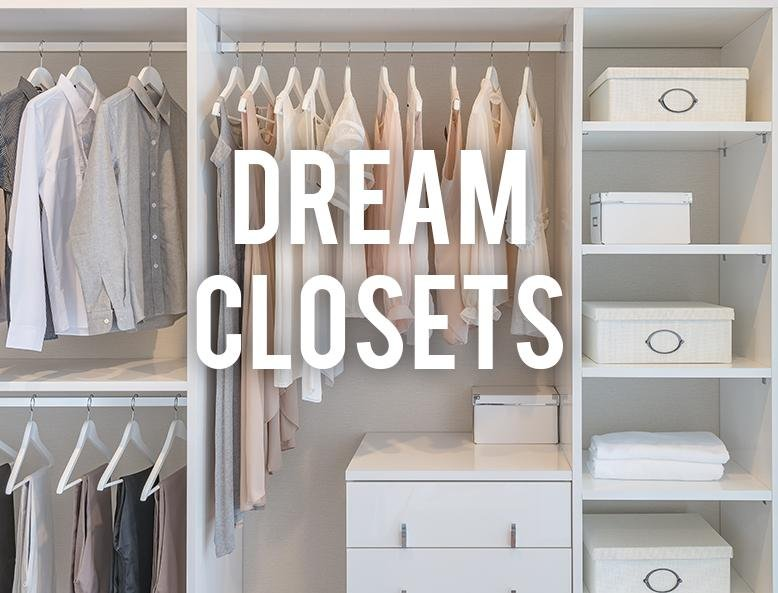 Attrayant If You Could Have Your Dream Closet, What Would It Look Like? My Husband  And I Have Always Lived In Older Houses Which Are Heavy On Charm But Light  On ...