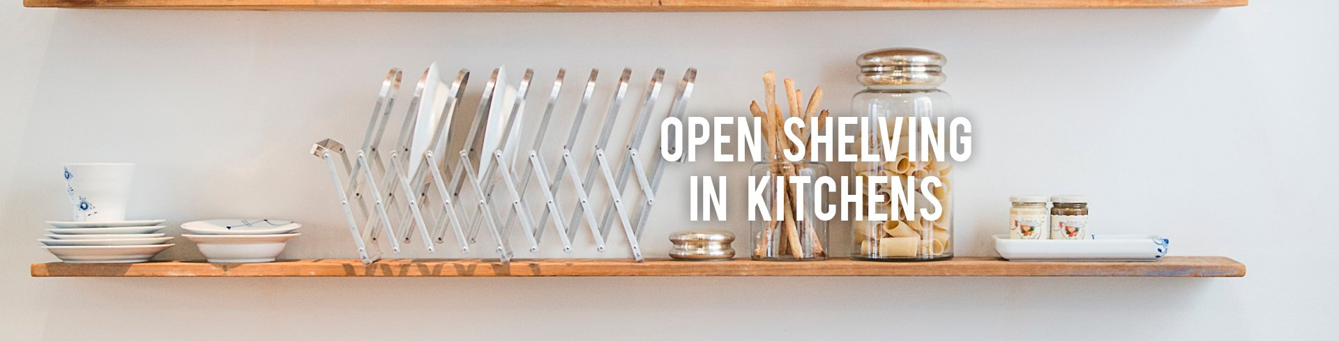 Shelving For Kitchens Open Shelving In Kitchens Rc Willey Furniture Store