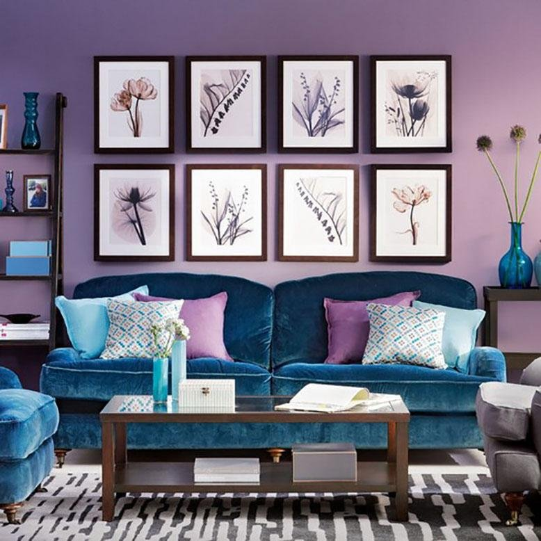 Analogous Room analogous color schemes | rc willey blog