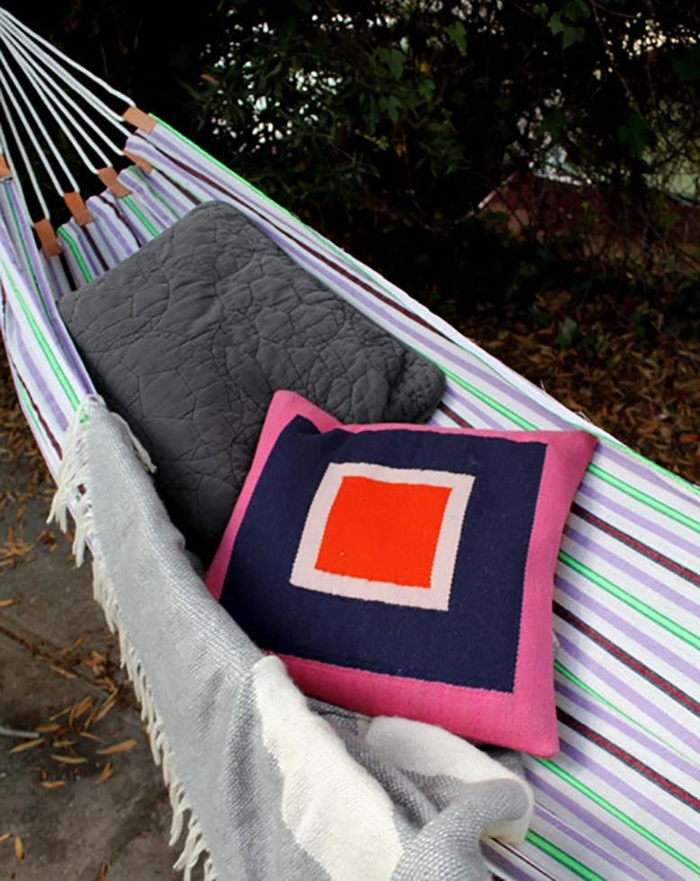 beach towel hammock