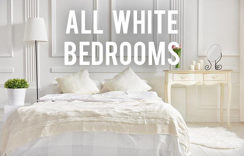i love all white bedrooms there is something about them that is so serene bright and clean removing all color from your room may seem like it could be - White Bedrooms