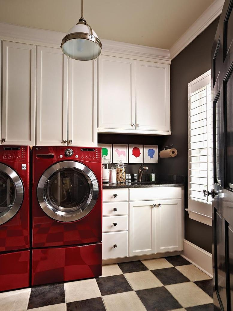 Small Laundry Room Ideas | RC Willey Blog on Small Laundry Room Cabinets  id=48593