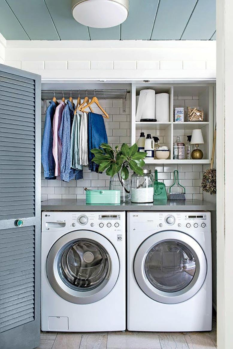 Small Laundry Room Ideas | RC Willey Blog on Small Laundry Room Cabinets  id=29789