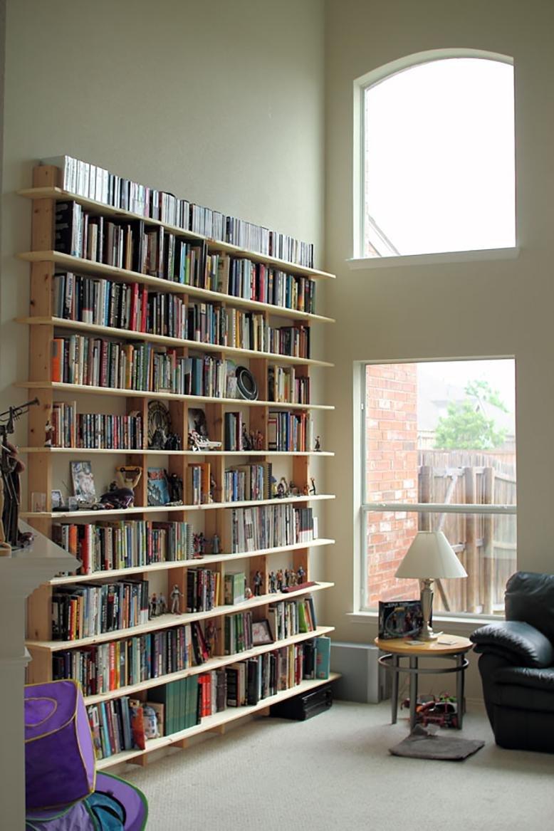 Diy bookshelves rc willey blog for Diy basic bookshelf