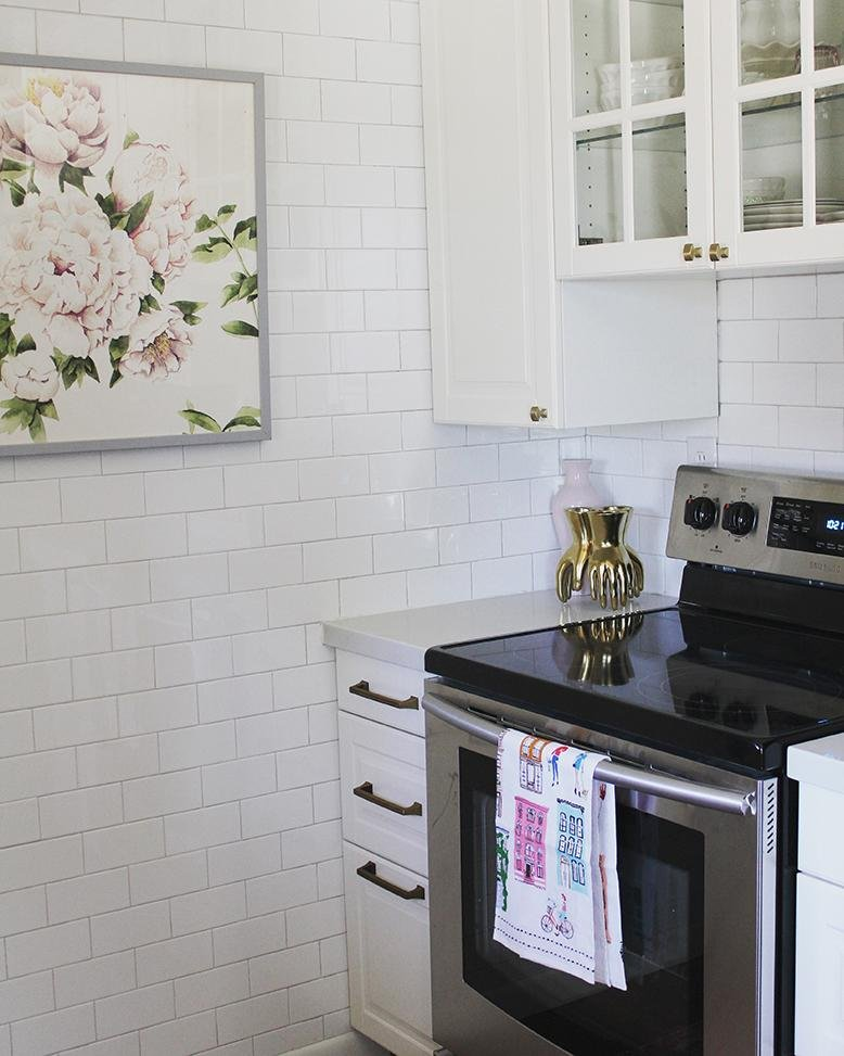 at home with ashley kitchen redo