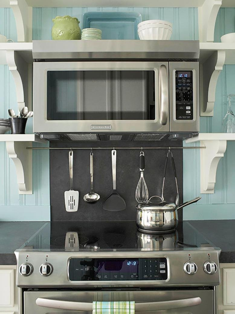 how to install an over the range microwave rc willey blog. Black Bedroom Furniture Sets. Home Design Ideas