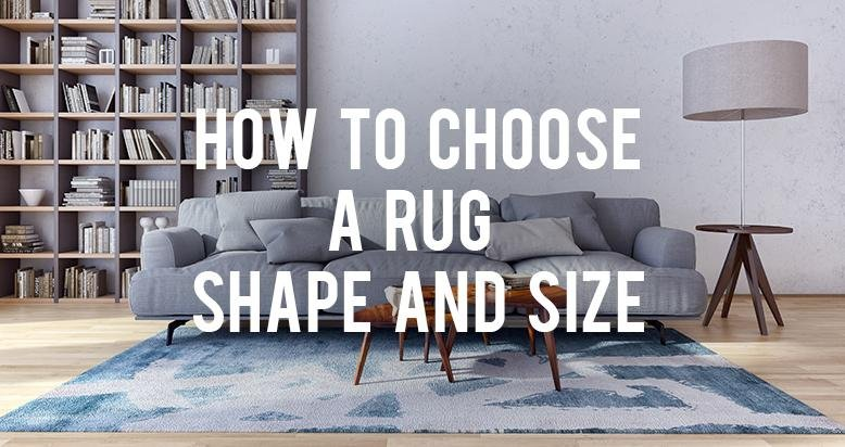 How To Choose A Rug Shape And Size Rc