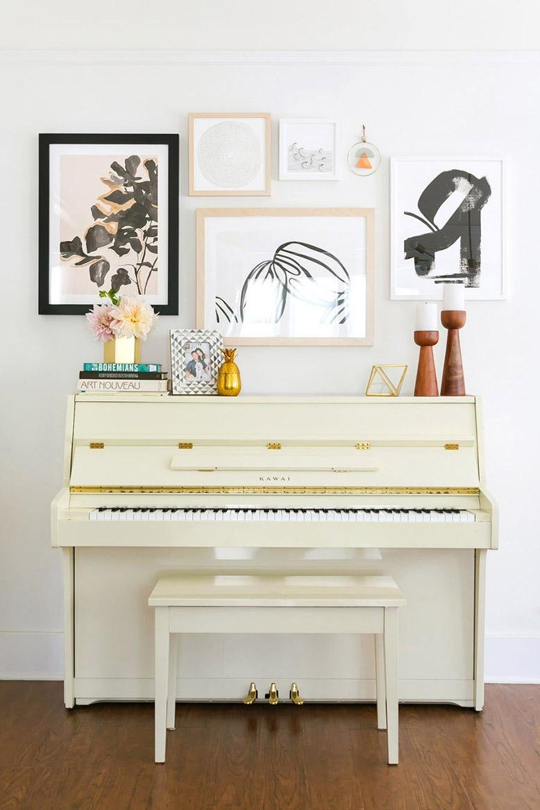 Piano decoration ideas rc willey blog for Piano room decor