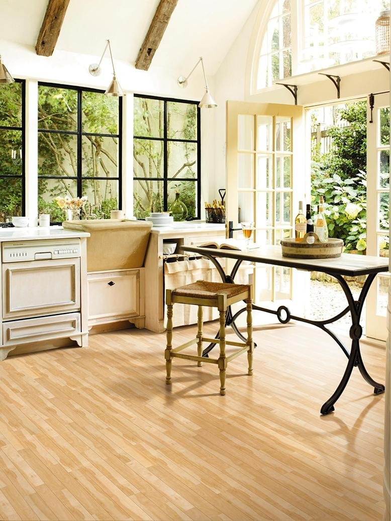 Luxury Vinyl Floors Are An Affordable Flooring Option That Looks Much More Realistic Than The Bold Patterned From 70s