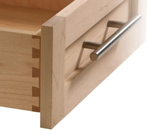 Dovetail: A Series Of Fan Shaped Joints Used To Connect Drawer Fronts And  Sides