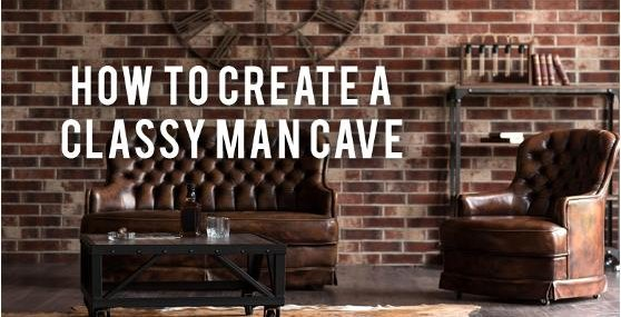 Man Cave With Brick Wall : How to create a classy man cave rc willey