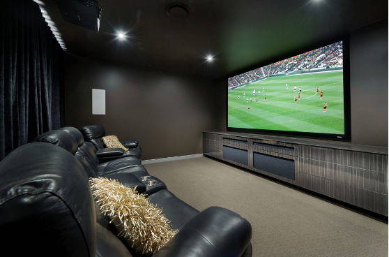 Garage Man Cave Projector : How to create a classy man cave rc willey blog