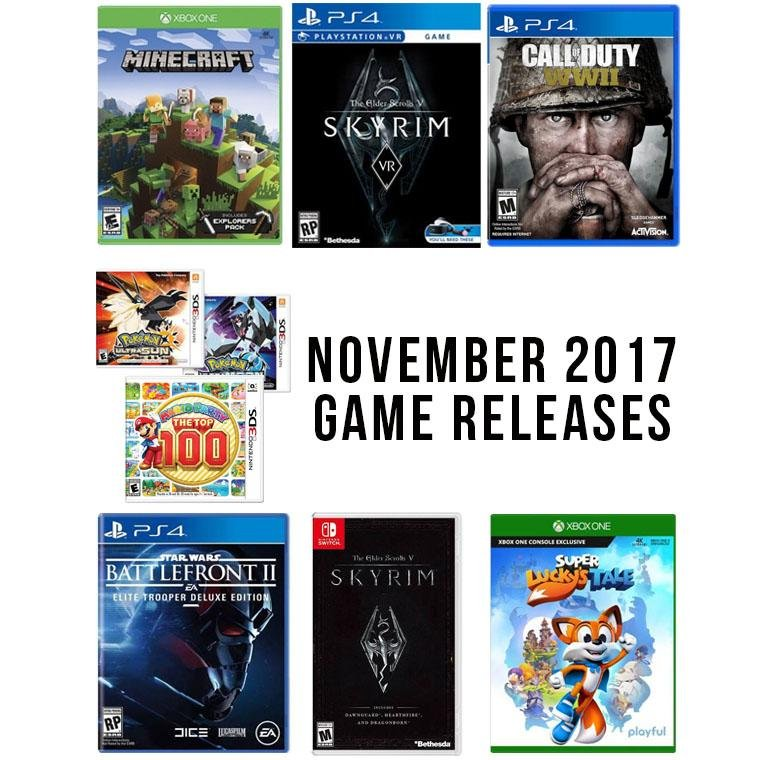 video game releases