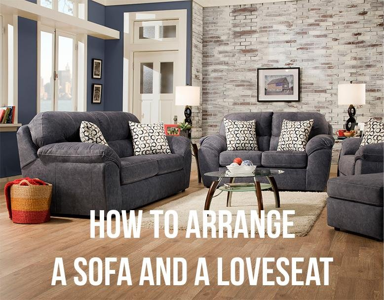 How To Arrange A Sofa And A Loveseat Rc Willey Blog