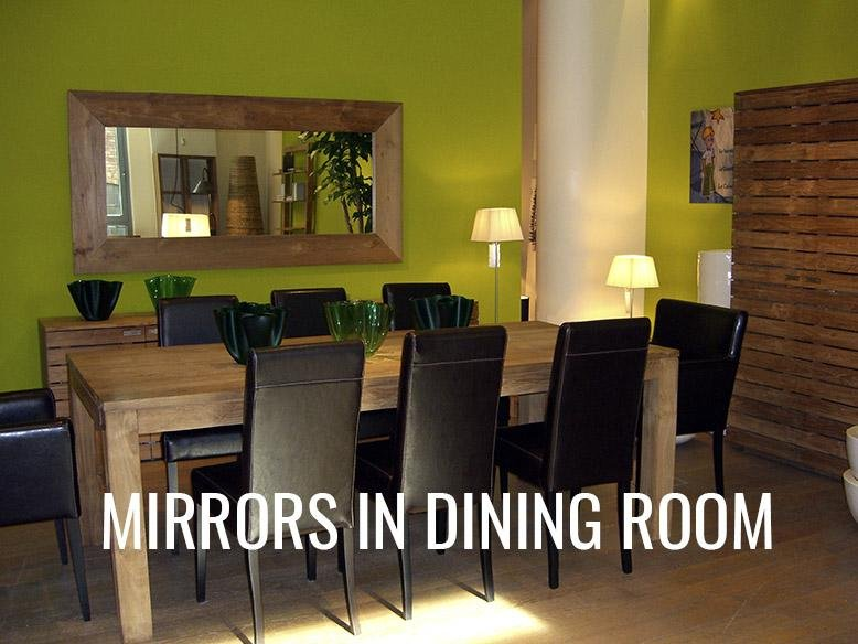 Mirrors in Dining Room | RC Willey Blog