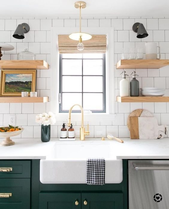 15 Design Ideas For Kitchens Without Upper Cabinets: Trend Alert: No Upper Kitchen Cabinets!