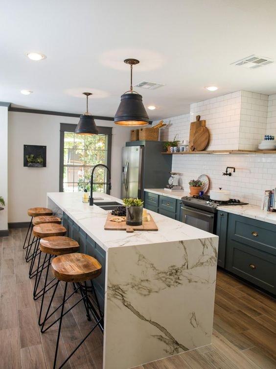 Trend Alert: No Upper Kitchen Cabinets! | RC Willey Blog