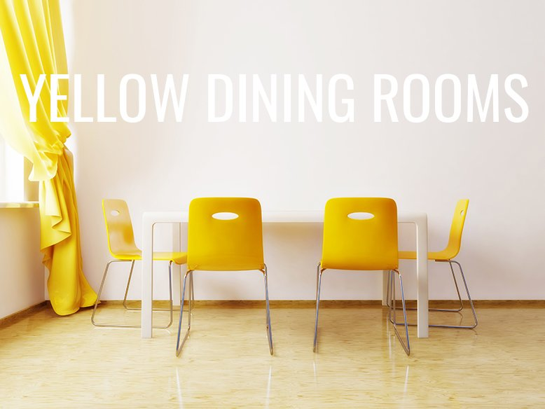 Yellow Is A Bright, Happy, Optimistic Color, So Why Wouldnu0027t You Want To  Use That Color For Your Dining Room? There Are So Many Different Ways You  Can ...