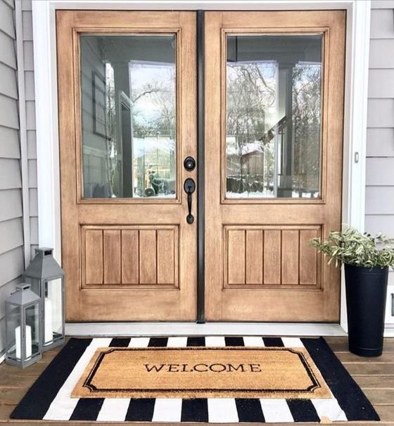 Trend Alert Layered Rugs On The Front Porch Rc Willey Blog