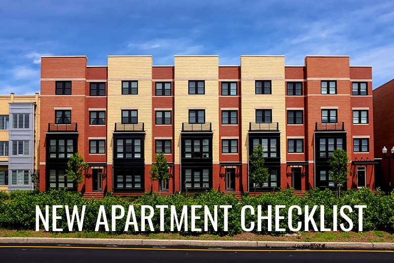 New Apartment Checklist | RC Willey Blog
