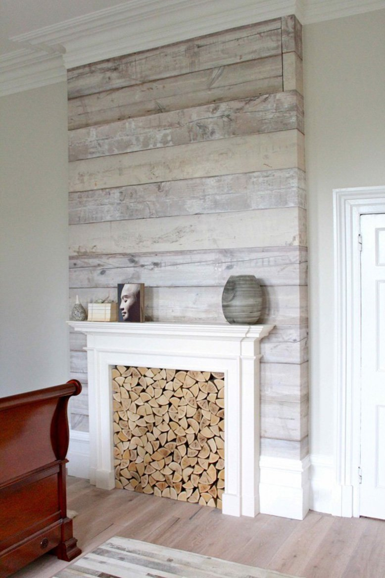 Reclaimed Wood Fireplaces Rc Willey Blog