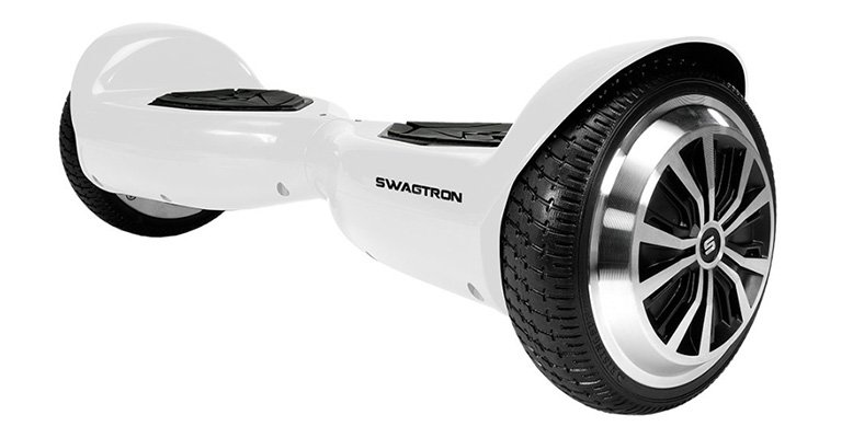 White Swagtron T5 Hoverboard
