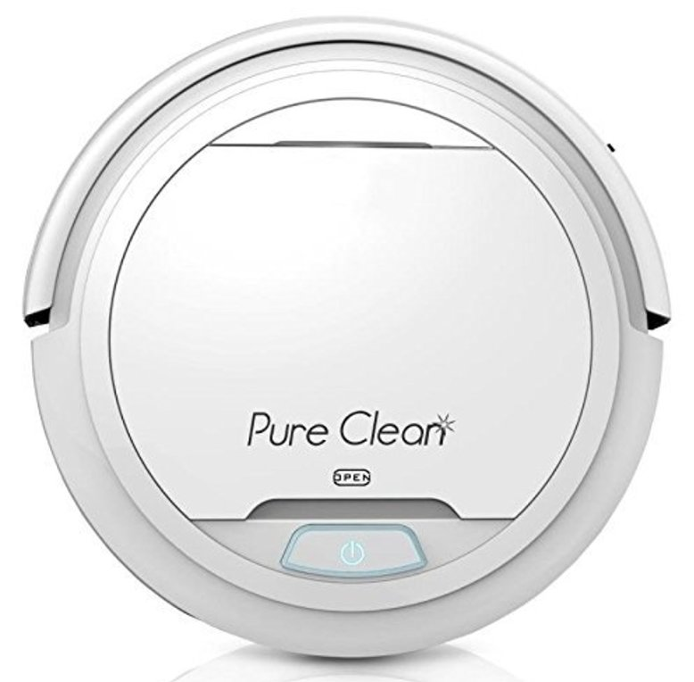 Pure Clean Smart Robot Cleaning Vacuum