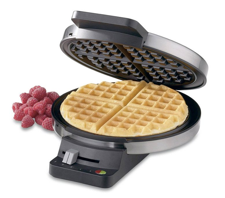 Round Classic Cuisinart Waffle Maker
