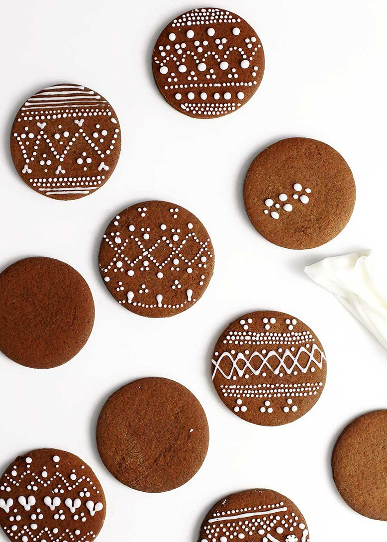 Nordic Gingerbread Cookies