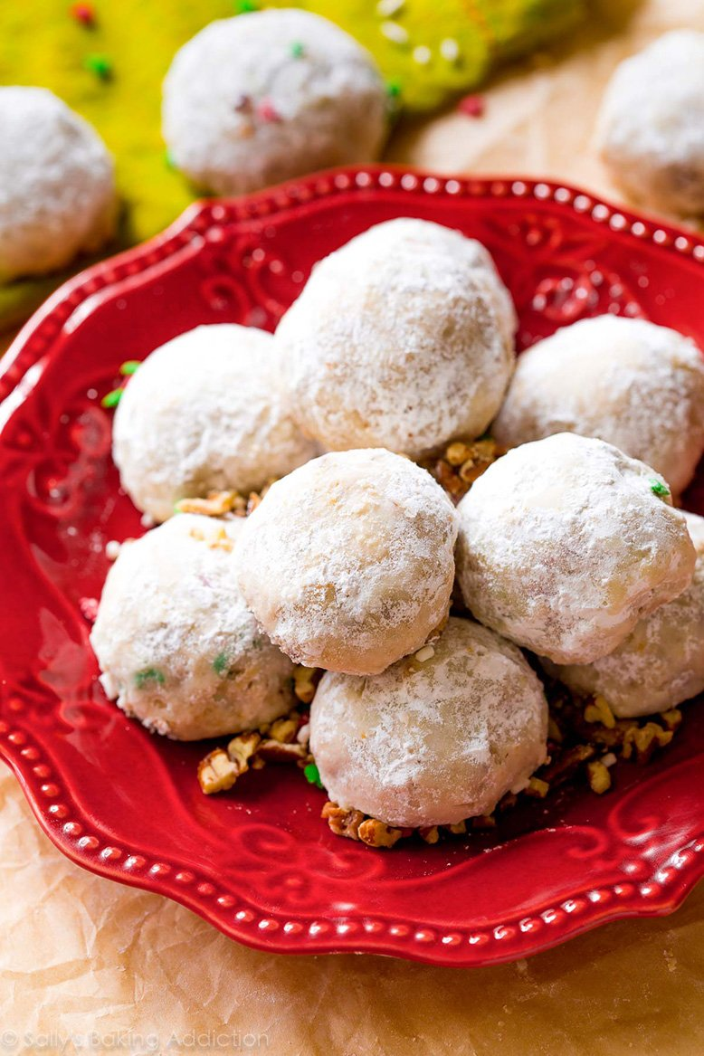 Toasted Pecan Snowballs