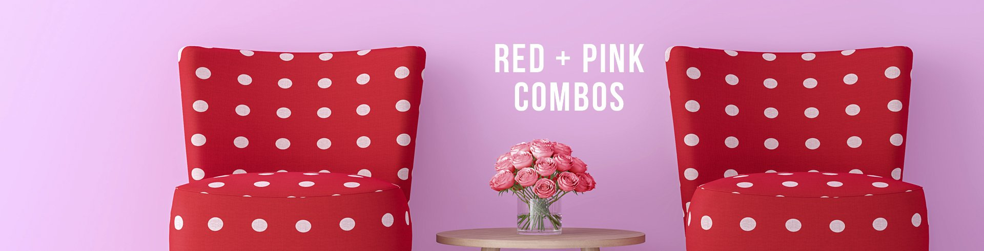 Red + Pink Interiors